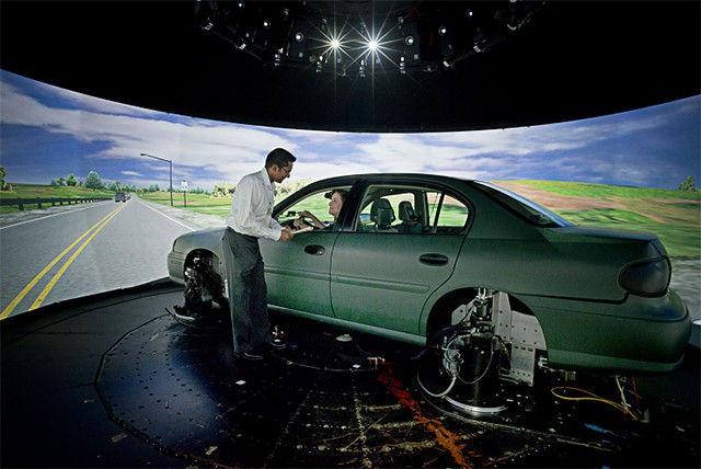 National Advanced Driving Simulator