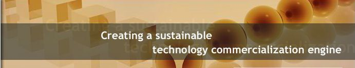 Creating a sustainable technology commercialization engine