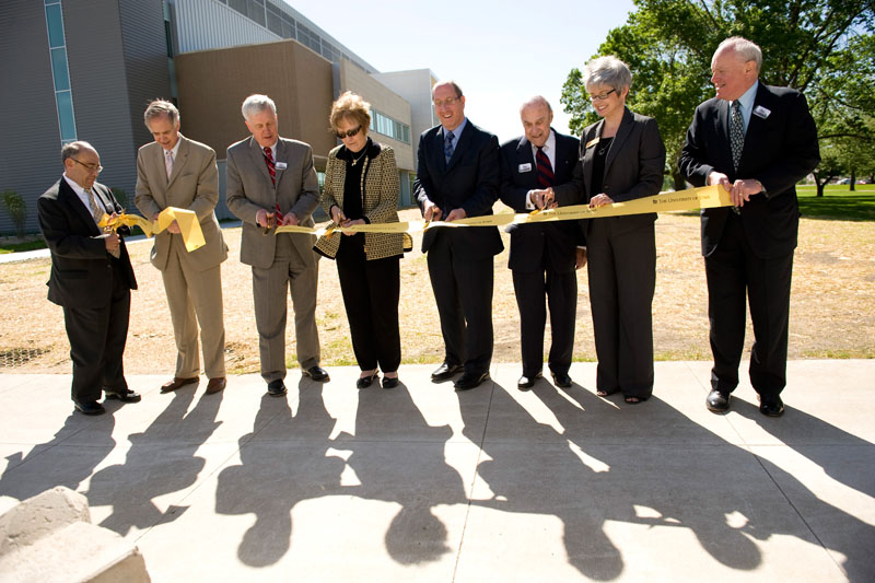 State Hygienic Lab dedication ceremony