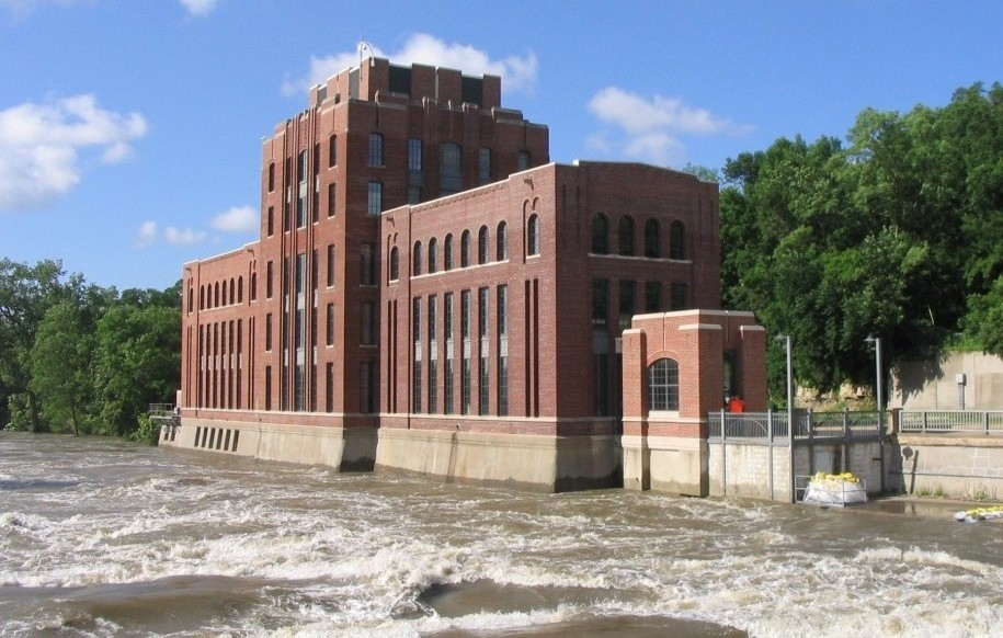 IIHR during the 2008 Flood