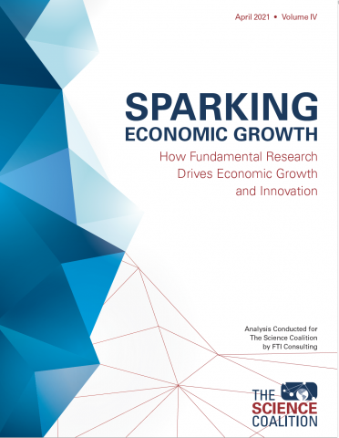 Cover of Science Coalition report