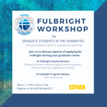 Fulbright Workshop for Graduate Students in the Humanities
