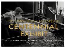 IIHR Centennial Exhibit GRAND OPENING promotional image