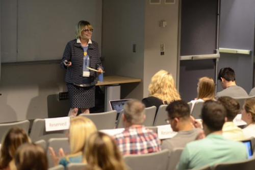 UI students pitch ideas at the John Pappajohn Entrepreneurial Center's Startup Games