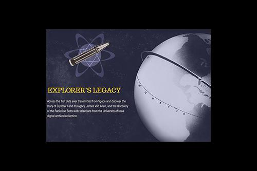Poster of Explorer's Legacy with globe