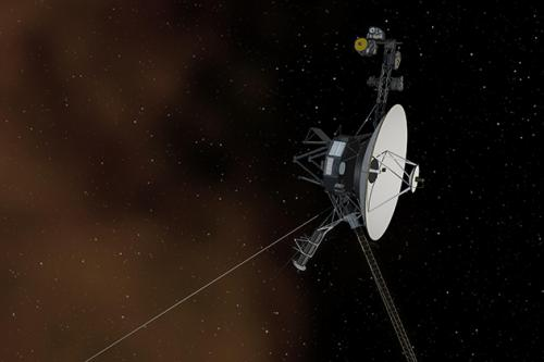 Illustration of voyager 1