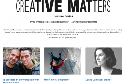 Creative Matters website